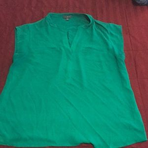Keely green blouse